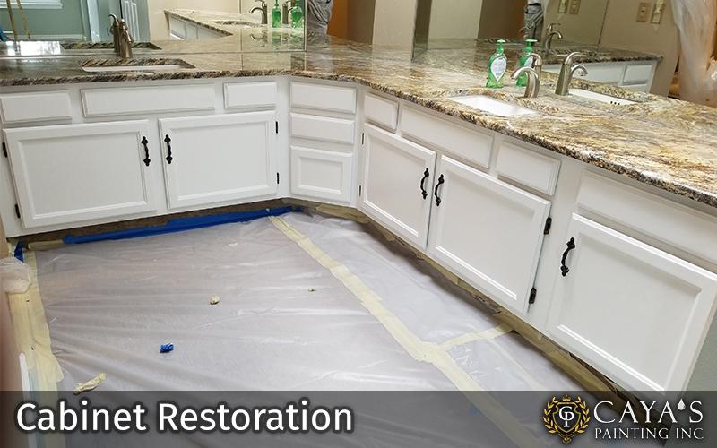Cayas Cabinet Restoration Slider #1