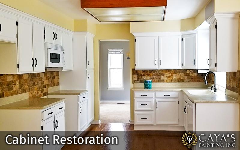 Cayas Cabinet Restoration Slider #2