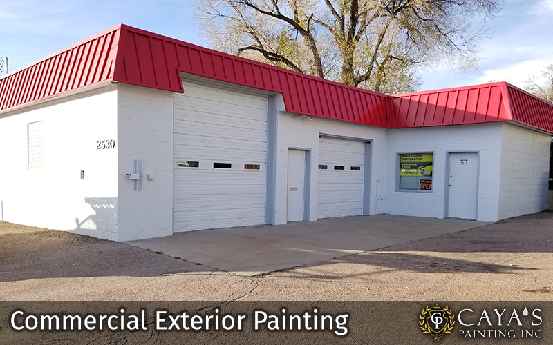 Exterior Commercial Painting Photo #1