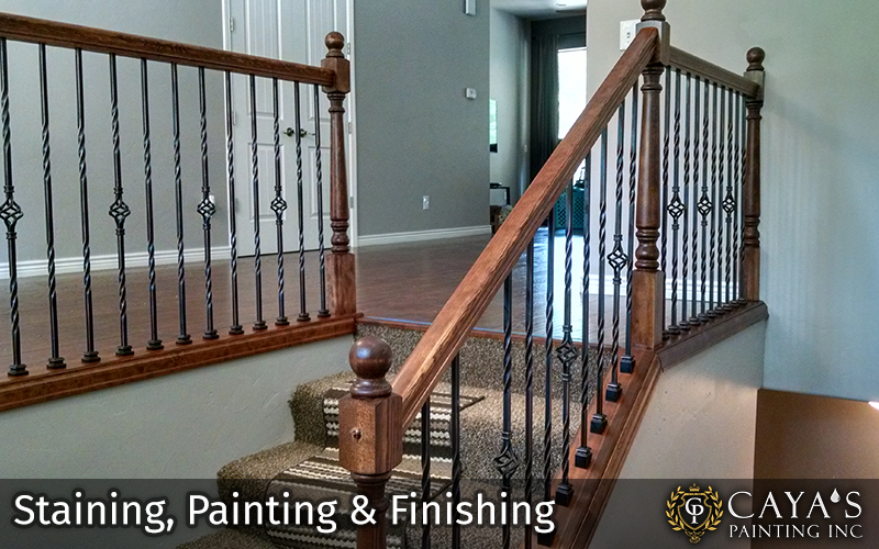 Staining Painting and Finishing #2