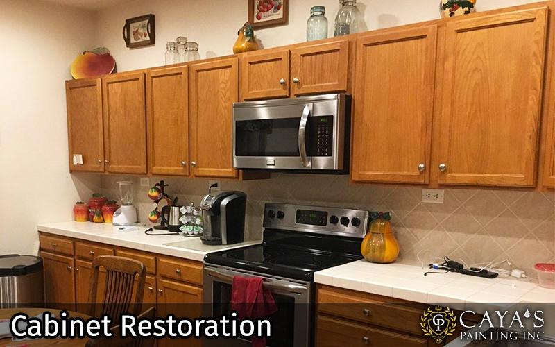 Cayas Cabinet Restoration Slider #3