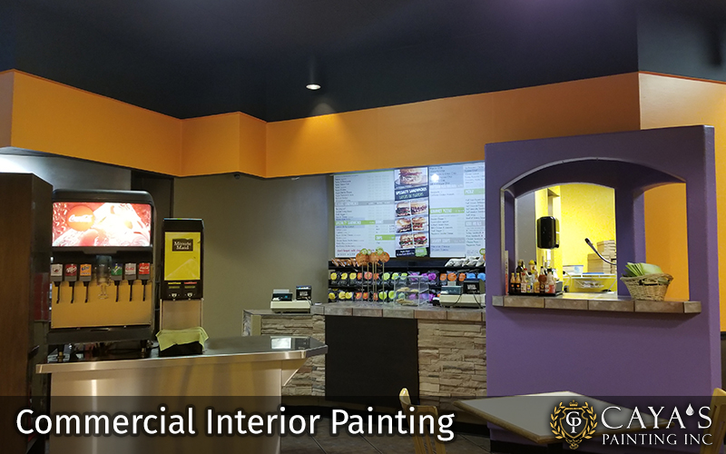 Interior Commercial Painting Photo #2