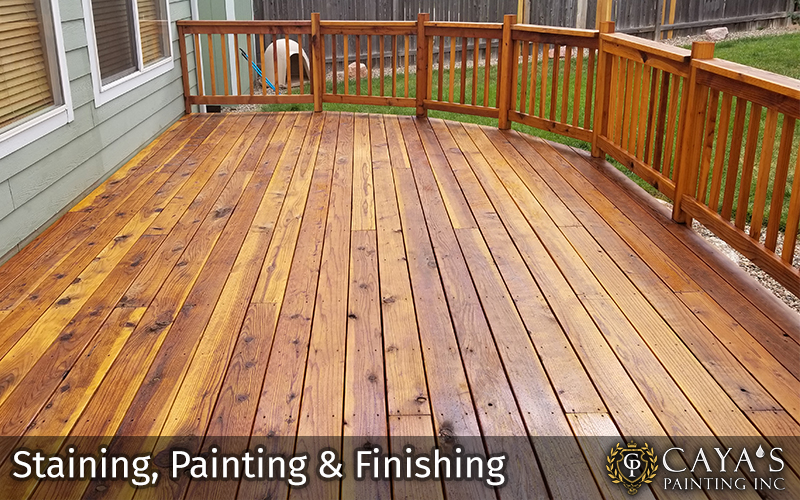 Staining Painting and Finishing #3