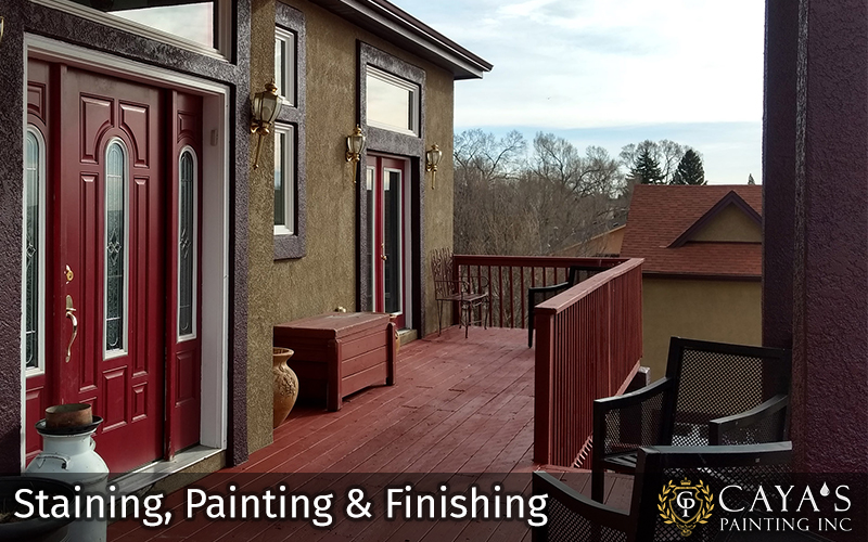 Staining Painting and Finishing